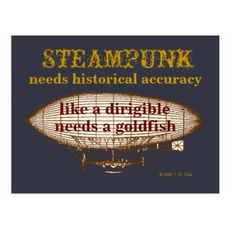 Steampunkは郵便はがきを必要とします ポストカード