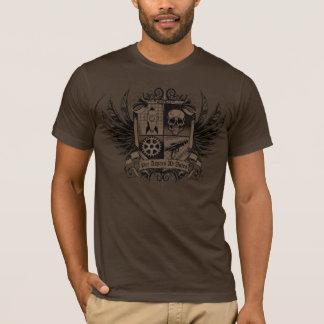 Steampunkブラウン- Asperaの広告Astraごとの… Tシャツ