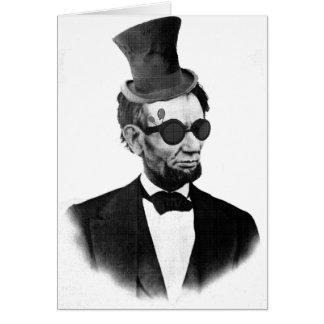 Steampunkリンカーン カード