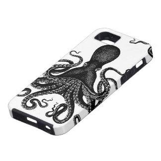 Steampunk堅いKraken -ビクトリアンなタコ iPhone SE/5/5s ケース
