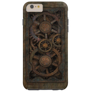 Steampunk汚い産業機械 Tough iPhone 6 Plus ケース