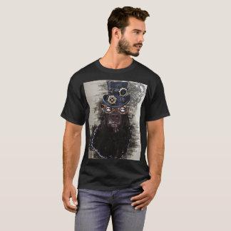 Steampunk犬 Tシャツ