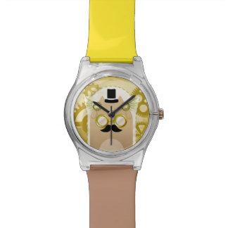 Steampunk猫の腕時計 腕時計
