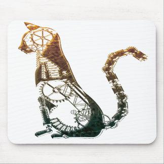 Steampunk猫のmousepad マウスパッド