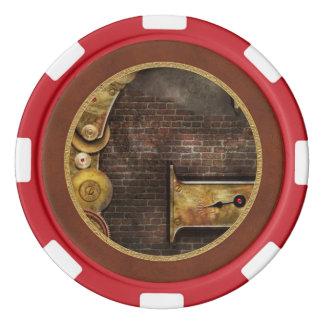 Steampunk -アルファベットギアのため-はGです ポーカーチップ