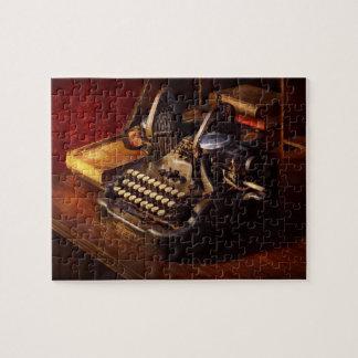 Steampunk -オリバーのタイプ機械 ジグソーパズル