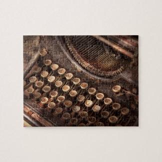 Steampunk -タイプライターtuckered -余りにタイプに ジグソーパズル