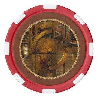 Steampunk -ディストピア-地下 ポーカーチップ