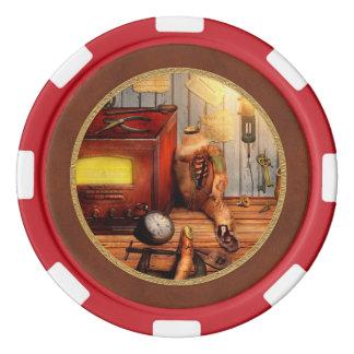 Steampunk -友情を修理すること ポーカーチップ
