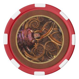 Steampunk -昆虫- Itsyのbitsyくも ポーカーチップ