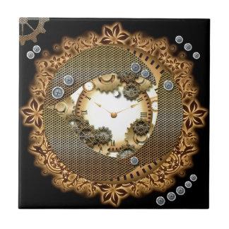 Steampunk、時計およびギア タイル