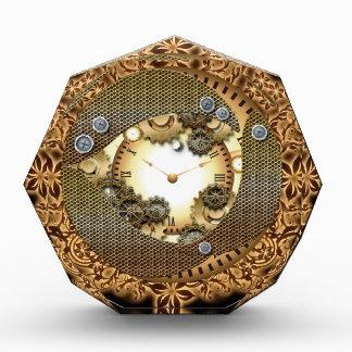 Steampunk、時計およびギア 表彰盾