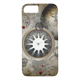 Steampunk、時計およびギア iPhone 8/7ケース