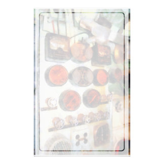 Steampunk -機関室のゲージ 便箋
