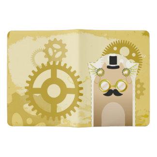 Steampunk+猫のノート エクストララージMoleskineノートブック