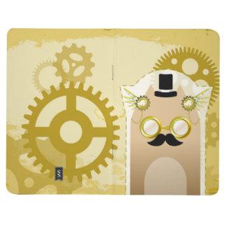 Steampunk+猫の小型ジャーナル ポケットジャーナル