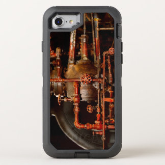 Steampunk -空想的な考え オッターボックスディフェンダーiPhone 8/7 ケース