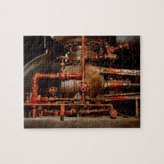 Steampunk -空想的な考え ジグソーパズル
