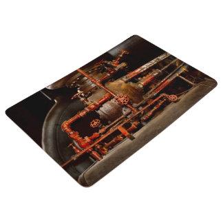 Steampunk -空想的な考え フロアマット