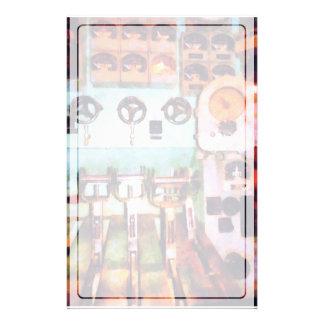 Steampunk -電気管制室 便箋