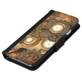 Steampunk iPhone 6/6s ウォレットケース