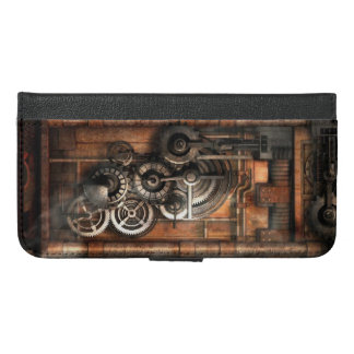 Steampunk iPhone 6/6s Plus ウォレットケース