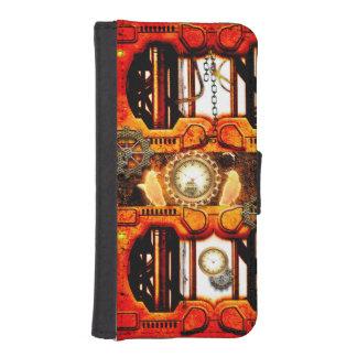 Steampunk iPhoneSE/5/5sウォレットケース
