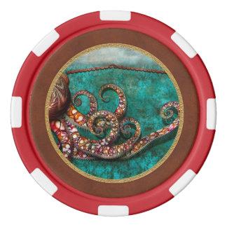 Steampunk - Krakenの物語 ポーカーチップ