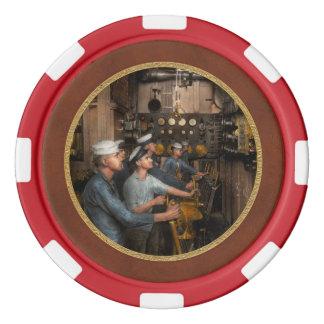Steampunk - USSワシントン州1920年の制御 ポーカーチップ