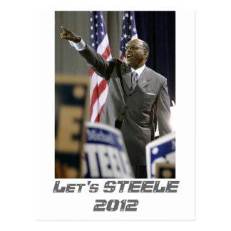 STEELE 2012年は ポストカード