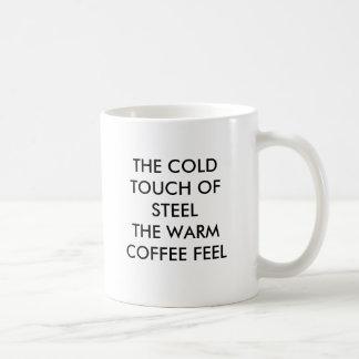 STEELTHEの冷たいTOUCHはコーヒー感じ、THを…暖めます コーヒーマグカップ