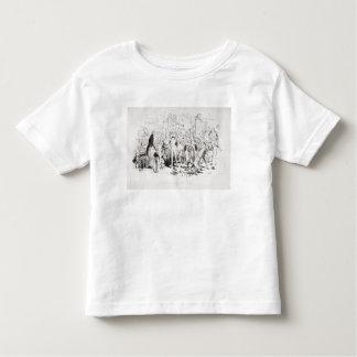 Steerforthおよび氏Mell トドラーTシャツ