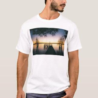 Steinhagenの貯蔵所の日没 Tシャツ