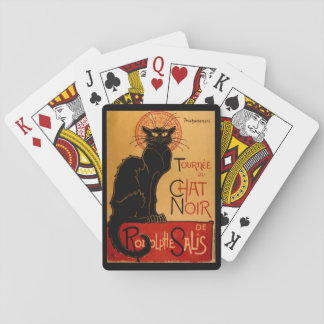 Steinlen's Le Chat Noirの トランプ