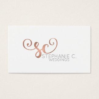 Stepanie C. Weddings Customの名刺 名刺