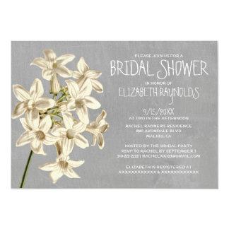 Stephanotisのブライダルシャワー招待状 カード