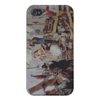 Stephansplatz、ウィーン1848年のバリケード iPhone 4/4S Cover