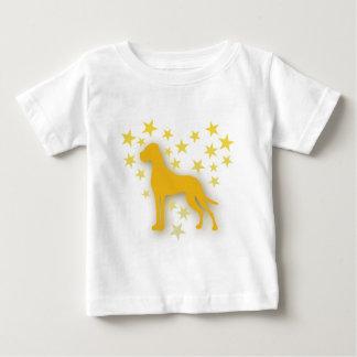Sternchenherzendogge ベビーTシャツ