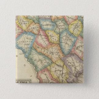 Sthカロライナ 5.1cm 正方形バッジ