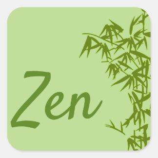 Sticker classique Zen スクエアシール