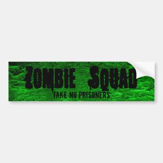 Sticker~Zombieの豊富な分隊は、熱心になります バンパーステッカー
