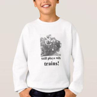 Still_Plays_With_Trainsのワイシャツ スウェットシャツ