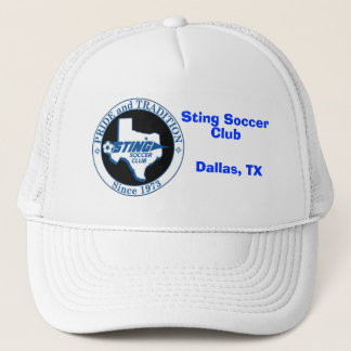 stinglogo_011の刺し傷のサッカー、クラブ、ダラス、TX キャップ
