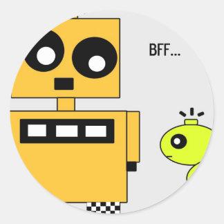 STIX: BFF ラウンドシール