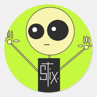 STIX: STIXの人 ラウンドシール