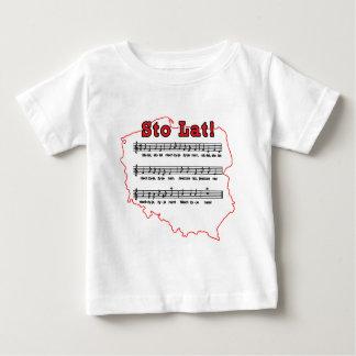 Stoの大石柱! 歌のポーランドの地図 ベビーTシャツ