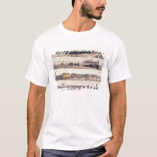 StocktonおよびDarlingtonの開始 Tシャツ