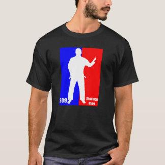 """Stockton MMA 209""""ちょっと相棒""""のプロロゴ暗いT Tシャツ"""