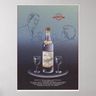 Stolichnayaのウォッカ ポスター
