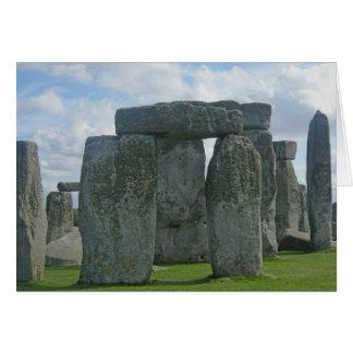Stonehengeおよびロンドンの挨拶状 カード